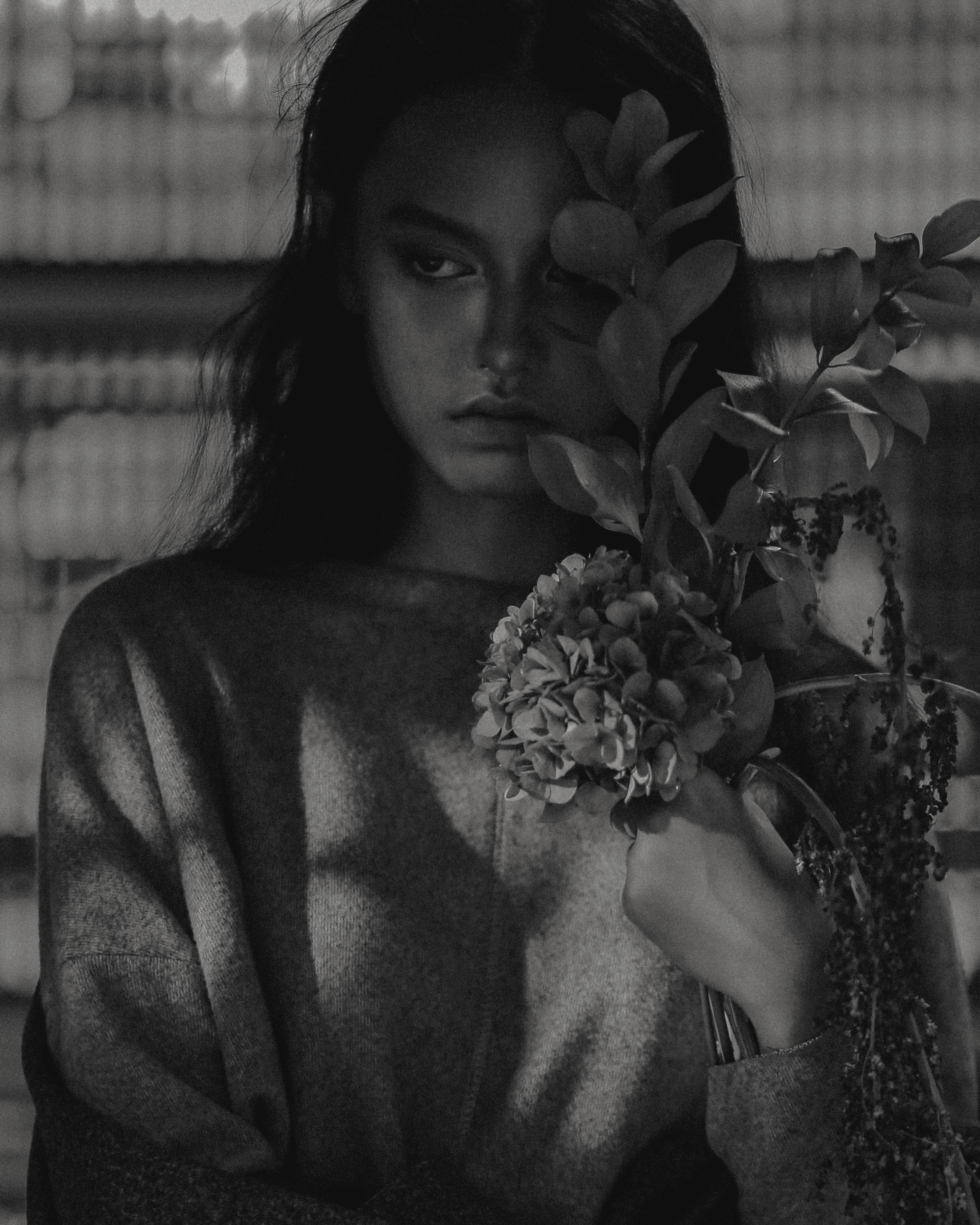 Ivy Models | STORY OF A FLOWER